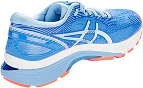 asics Gel Nimbus 21 Shoes Damen blue coastskylight